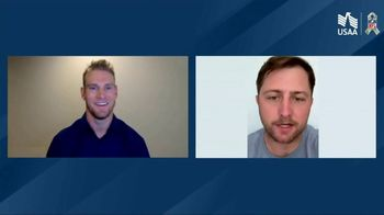 USAA TV Spot, 'Salute to Service: Virtual Team Events' Featuring Ryan Tannehill - Thumbnail 3