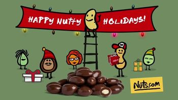 Nuts.com TV Spot, 'Nutty Holiday: Free Shipping'