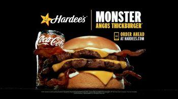Hardee's Monster Angus Thickburger TV Spot, 'Magic Eye Do Anything' - Thumbnail 7