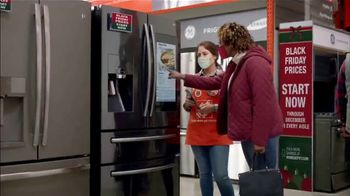The Home Depot Black Friday Prices TV Spot, 'Holiday Help: Samsung Kitchen Package for $2,348'