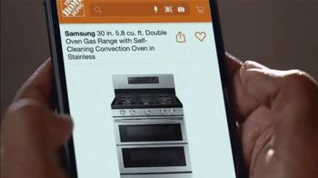 The Home Depot Black Friday Prices TV Spot, 'Holiday Help: Samsung Kitchen Package for $2,348' - Thumbnail 3