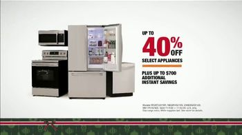 The Home Depot Black Friday Prices TV Spot, 'Holiday Help: Samsung Kitchen Package for $2,348' - Thumbnail 6