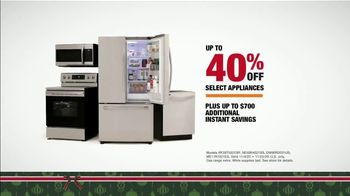The Home Depot Black Friday Prices TV Spot, 'Holiday Help: Samsung Kitchen Package for $2,348' - Thumbnail 7