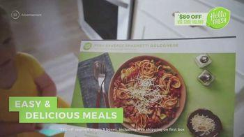 HelloFresh TV Spot, 'Spaghetti Bolognese' - Thumbnail 4