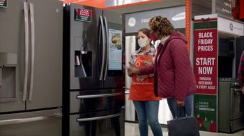 The Home Depot Black Friday TV Spot, 'Holiday Help: GE Laundry Pair for $598 Each' - 1898 commercial airings