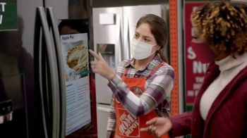 The Home Depot Black Friday Prices TV Spot, 'Holiday Help: GE Laundry Pair for $598 Each' - Thumbnail 2