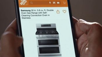 The Home Depot Black Friday Prices TV Spot, 'Holiday Help: GE Laundry Pair for $598 Each' - Thumbnail 4