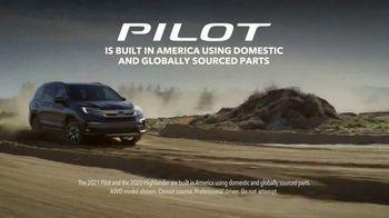 2021 Honda Pilot TV Spot, 'Which Is Better?: Pilot' [T2] - Thumbnail 4