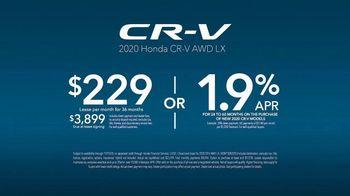 2020 Honda CR-V TV Spot, 'Which Is Better?: CR-V' [T2] - Thumbnail 5