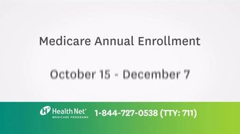 Health Net TV Spot, 'Medicare Enrollment' - Thumbnail 2