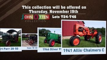 Mecum Gone Farmin' 2020 Fall Premier TV Spot, 'John Otten Collection'