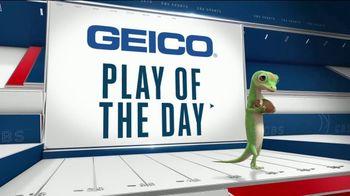 GEICO TV Spot, 'Play of the Day: Chuck Clark' - Thumbnail 1