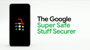 Google Pixel 5 TV Spot, 'The Super Safe Stuff Securer: $499'