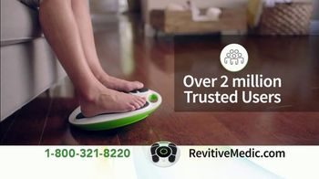 Revitive Circulation Booster TV Spot, 'Suffering From Pain in Your Legs, Knees, Feet or Back?' - Thumbnail 3