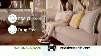 Revitive Circulation Booster TV Spot, 'Suffering From Pain in Your Legs, Knees, Feet or Back?' - Thumbnail 4
