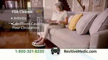 Revitive Circulation Booster TV Spot, 'Suffering From Pain in Your Legs, Knees, Feet or Back?' - Thumbnail 6