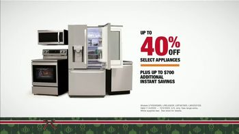 The Home Depot Black Friday Prices TV Spot, 'LG Stainless Steel Kitchen Package' - Thumbnail 6