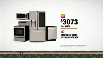 The Home Depot Black Friday Prices TV Spot, 'LG Stainless Steel Kitchen Package' - Thumbnail 7