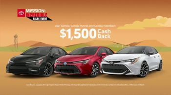 Toyota Mission: Incredible Sales Event TV Spot, 'All Systems Go' [T2] - Thumbnail 5