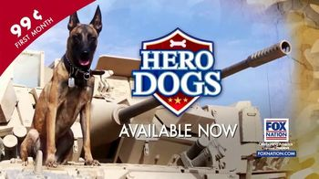 FOX Nation TV Spot, 'Hero Dogs'