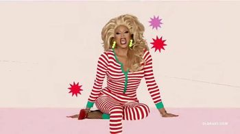 Old Navy TV Spot, 'Holidays: Jingle Jammies' Featuring RuPaul - Thumbnail 8