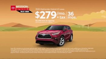 Toyota Mission: Incredible Sales Event TV Spot, 'Whatever It Takes' [T2] - Thumbnail 7