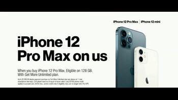 Verizon TV Spot, '5G Just Got Real: iPhone 12 Pro Max & iPhone 12 mini: Pre-Order' - Thumbnail 7