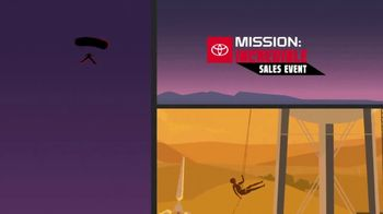 Toyota Mission: Incredible Sales Event TV Spot, 'By Any Means' [T2] - Thumbnail 5