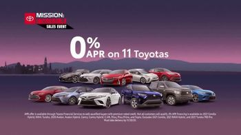 Toyota Mission: Incredible Sales Event TV Spot, 'By Any Means' [T2] - Thumbnail 6