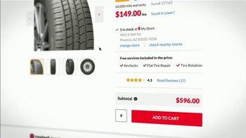 Discount Tire TV Spot, 'No Look Shot: Bridgestone' - Thumbnail 3