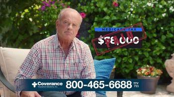 Coverance Insurance Solutions, Inc TV Spot, 'Payback Time: $144 Back' Ft. Kelsey Grammer