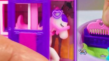 Polly Pocket Jumpin' Style Pony Compact TV Spot, 'All Tens All Day' - Thumbnail 5
