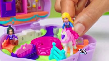 Polly Pocket Jumpin' Style Pony Compact TV Spot, 'All Tens All Day' - Thumbnail 6