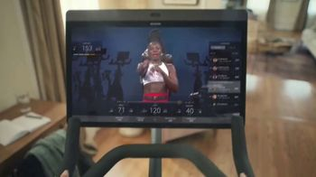 Peloton TV Spot, 'Rise and Shine: Free Classes' Song by Celeste - Thumbnail 7