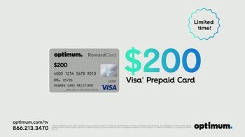 Optimum TV Spot, 'Best Offer Ever: Free Installation and Visa Prepaid Card' - Thumbnail 9