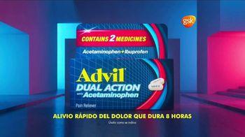 Advil Dual Action With Acetaminophen TV Spot, 'Ataca al dolor y lo bloquea' [Spanish] - Thumbnail 3