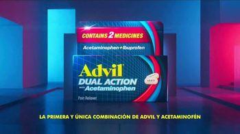 Advil Dual Action With Acetaminophen TV Spot, 'Ataca al dolor y lo bloquea' [Spanish]