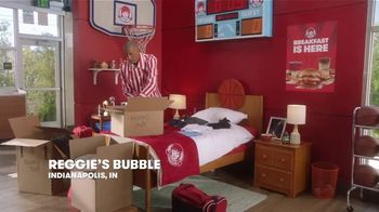 Wendy's TV Spot, 'Move-In: March Madness' Featuring Reggie Miller - Thumbnail 1