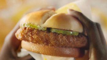 McDonald's Crispy Chicken Sandwiches TV Spot, 'Potato Bun' - Thumbnail 1