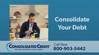 Consolidated Credit Counseling Services TV Spot, 'Challenging Times: Lower Rates' - Thumbnail 3