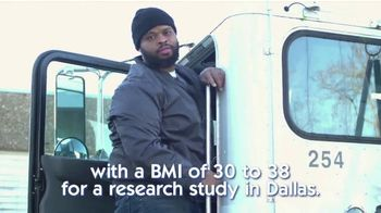 Covance Clinical Trials TV Spot, 'Research Study in Dallas: BMI' - Thumbnail 2
