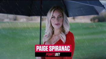 PointsBet TV Spot, 'Make It Rain' Featuring Paige Spiranac