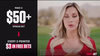 PointsBet TV Spot, 'Make It Rain' Featuring Paige Spiranac - Thumbnail 3