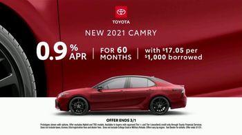 2021 Toyota Camry TV Spot, 'Dear All-Wheel Drive' [T2] - Thumbnail 8