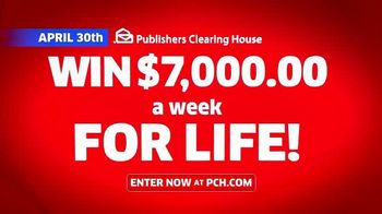 Publishers Clearing House TV Spot, 'Change Your Life: $7,000 a Week' Featuring Brad Paisley - Thumbnail 9