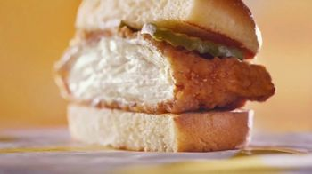 McDonald's Crispy Chicken Sandwich TV Spot, 'Crispy, Juicy, Tender' - Thumbnail 2
