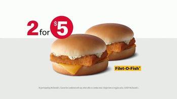 McDonald's Filet-O-Fish TV Spot, 'Half Empty, Half Full: Two for $5' - Thumbnail 8