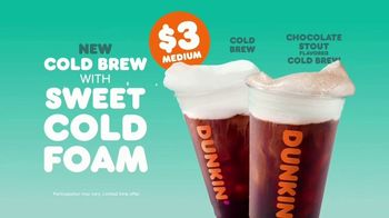 Dunkin' Cold Brew with Sweet Cold Foam TV Spot, 'Can't Top' - Thumbnail 9