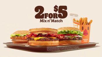 Burger King 2 for $5 TV Spot, 'Real Gs: All Food' Song by Lil Wayne - Thumbnail 10