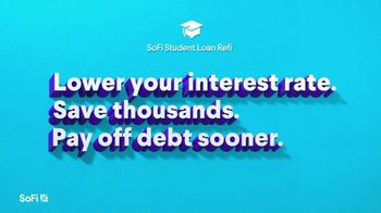 SoFi Student Loan Refinancing TV Spot, 'Check Your Rate: Jamie' Song by Labrinth - Thumbnail 3